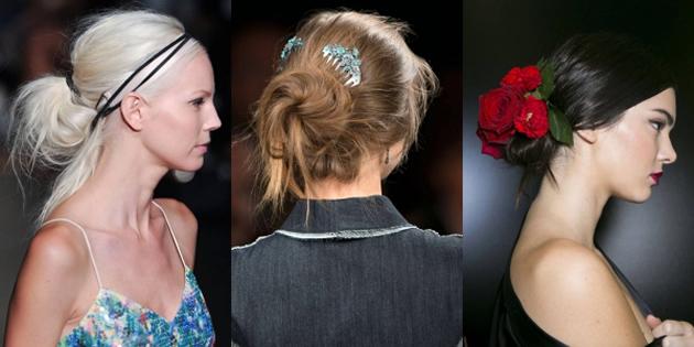 2015 Yaz Sezonunun trend saç modelleri - Saç Aksesuarları