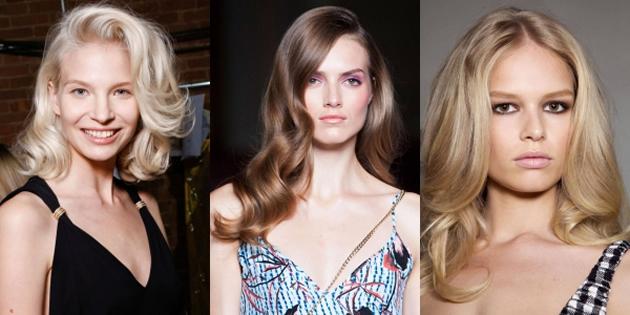 2015 Yaz Sezonunun trend saç modelleri - İri Dalgalar