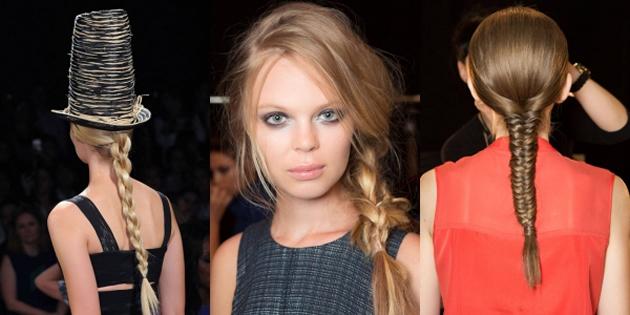 2015 Yaz Sezonunun trend saç modelleri - Saç Örgüsü