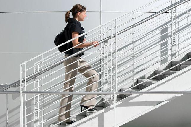 3- Kilo vermek için merdiven çıkın