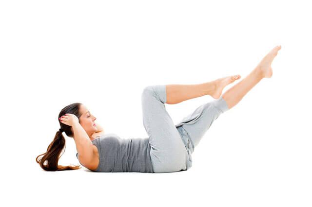 5 adımda hızlı göbek eritme egzersizleri - Crunch