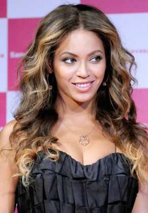 Beyonce Karamel Saç Rengi