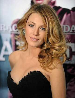 Blake Lively Karamel Saç Rengi