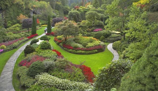 Feng Shui Bahçe dekorasyonu - Pegarose.com