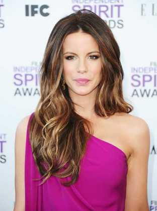 Kate Beckinsale Karamel Saç Rengi