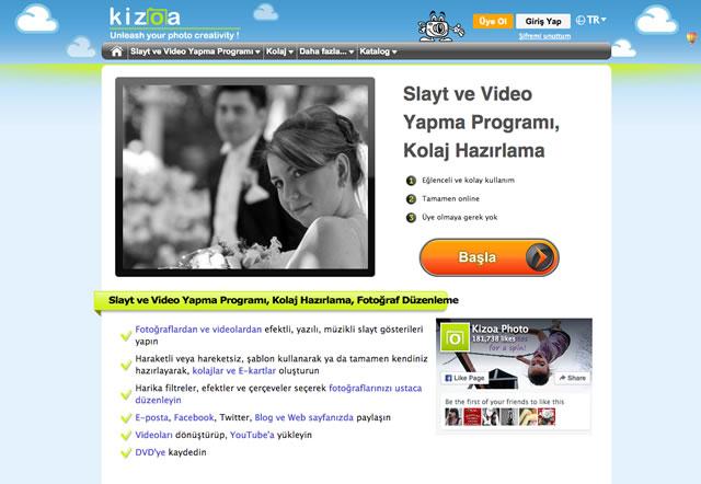 Kizoa Video Yapma Programı
