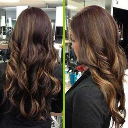 Koyu Karamel Saç Rengi