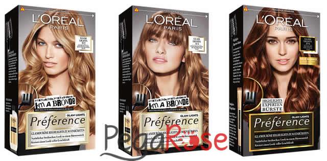 Loreal Bronde Saç Renkleri