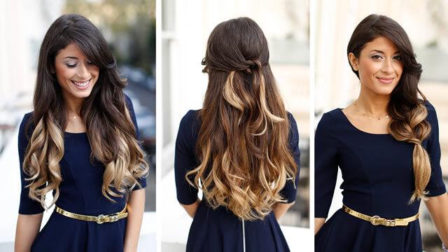 Окраска волос амбре