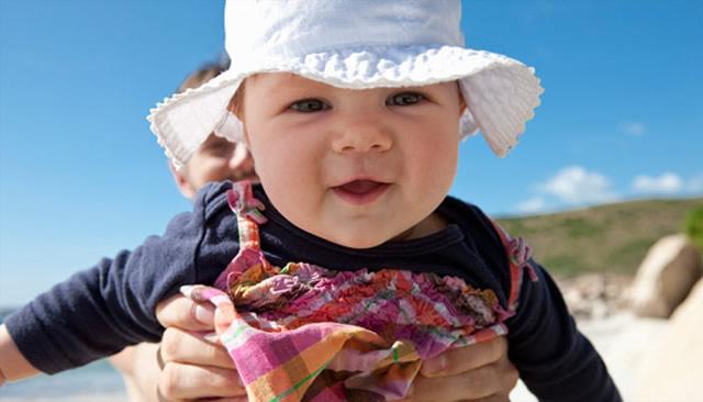 Sıcak Havalarda Bebek Bakımı - Pegarose.com