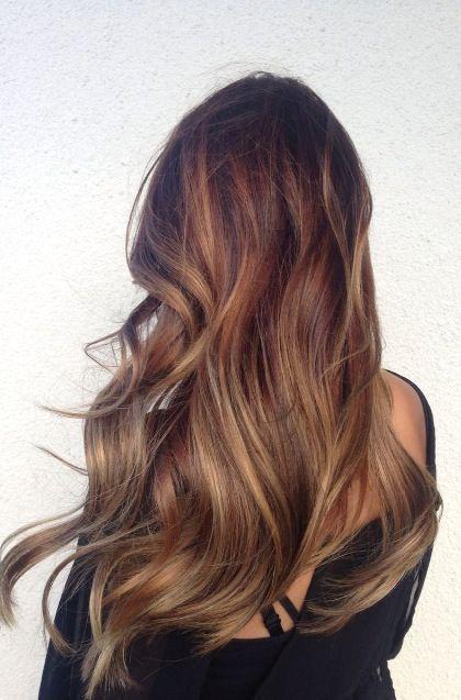 Gölgeli Fındık kabuğu saç renkleri