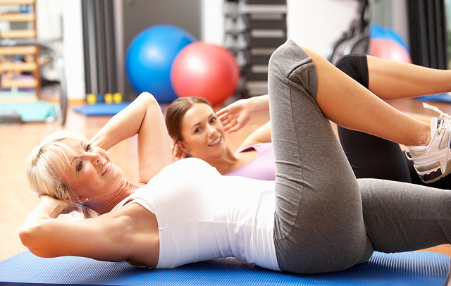 Egzersiz yapmak - Göbek Yağlarını Eritmek İçin İpuçları