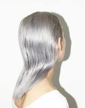 Islak saç trendi