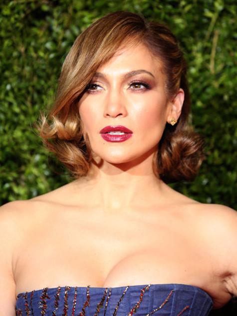 Jennifer Lopez bob saç kesimi