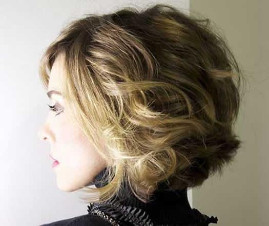 Kısa Saç Kesimi 2015