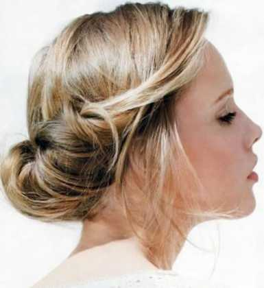 Kısa Saç Modelleri topuz