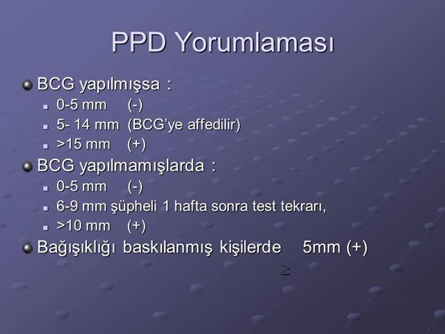 ppd-testi-sonucu