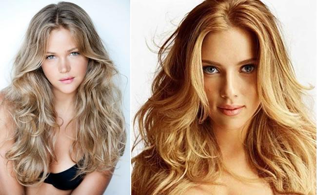 Sarı Saç Rengi Modelleri-Pegarose.com