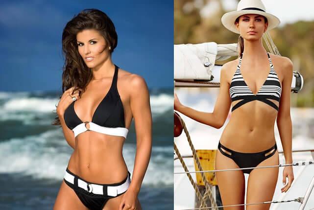 siyah-beyaz-bikini-modelleri
