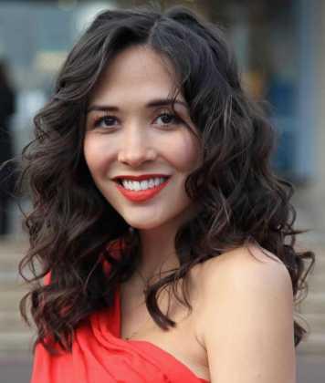 Myleen Klass - Yuvarlak yüze giden saç modelleri