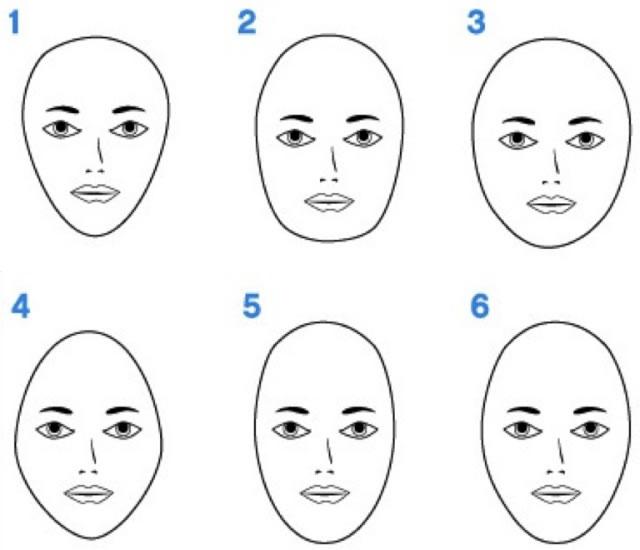 Yüz tipinize göre saç modelleri ve saç kesimleri