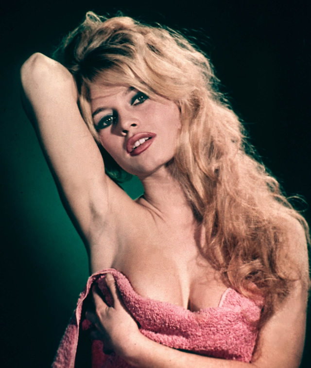 Brigitte Bardot Sarı Saç Modeli