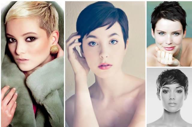 Pixie Kesimli Saç Modelleri