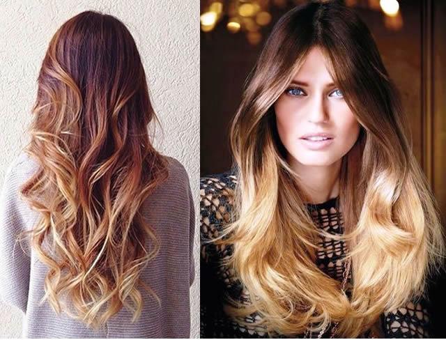 Ombre Saç Rengi Stili