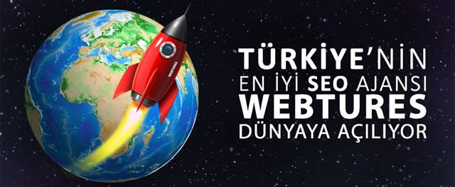 SEO ajansı Webtures Yurtdışına Açılıyor