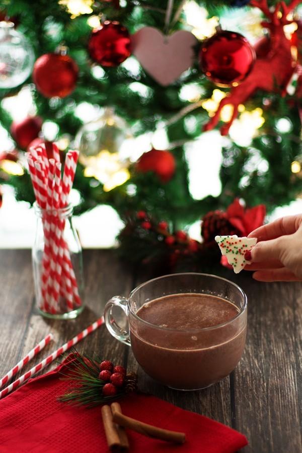 Zencefilli Sıcak Çikolata Tarifi