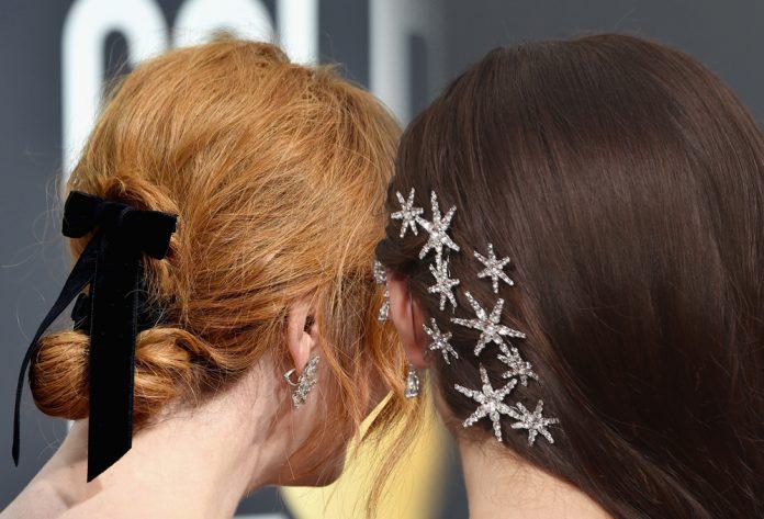 Altın Küre Saç Aksesuarları