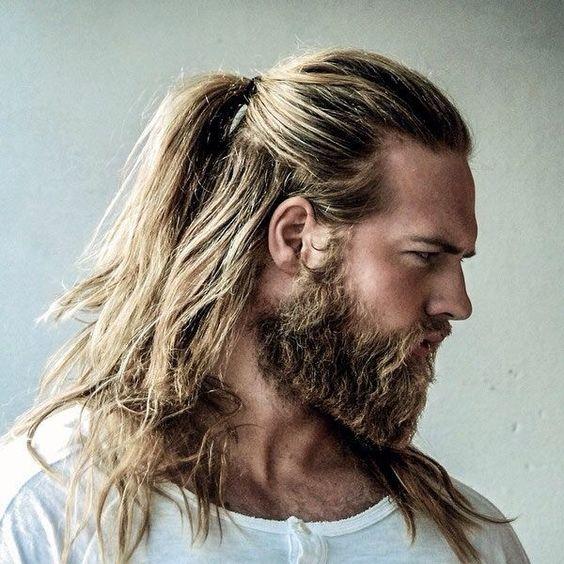 Çok Uzun Erkek Saç Kesim Stilleri
