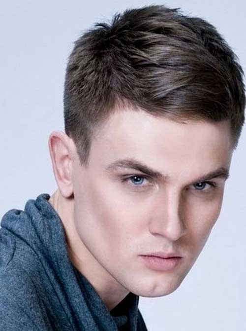 Kısa Erkek Saç Kesim Modelleri 2018